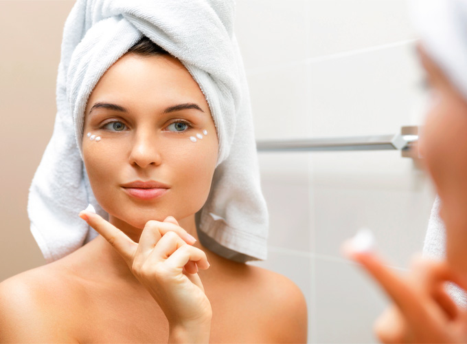 Why is it important to take care of your skin during the shower?
